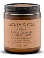 Soja&co, Bougie 8 oz, Fjords islandais