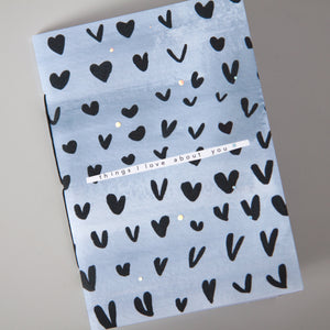 Things I love about you | Giftable hearts notebook