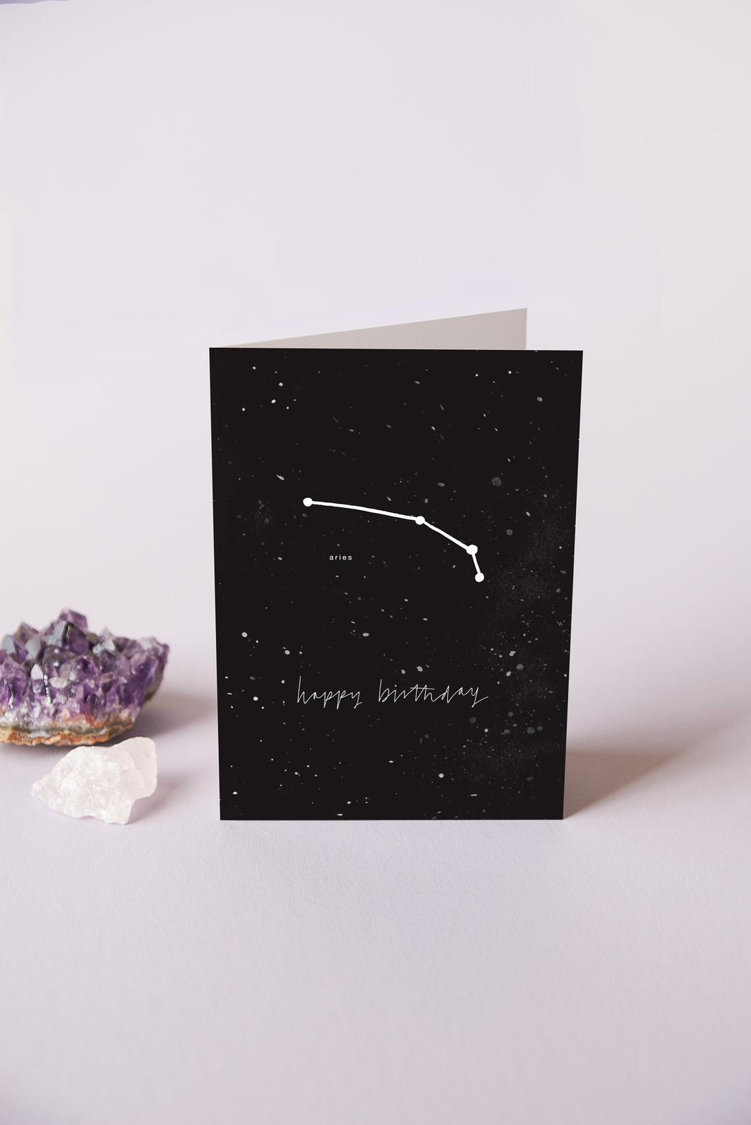 Aries Zodiac Birthday Card | 21st March - 19th April