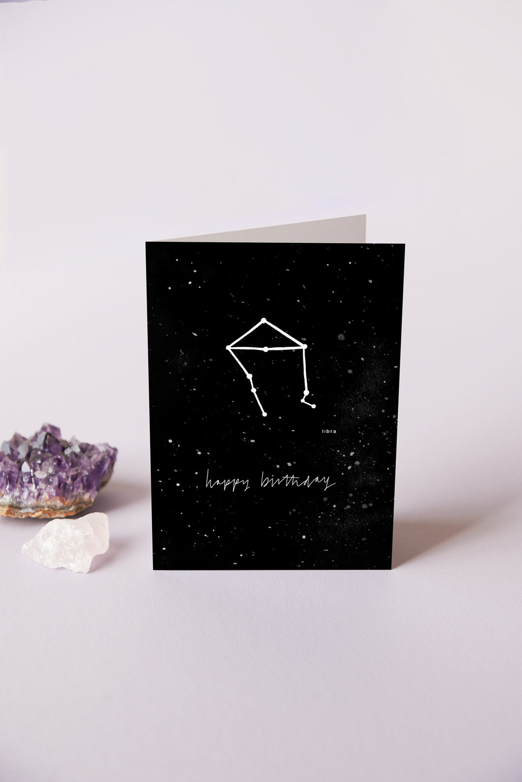 Libra Zodiac Birthday Card | 23rd September - 23rd October