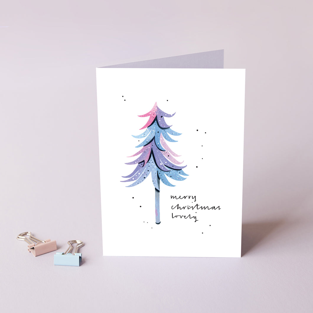 Merry Christmas Lovely Card