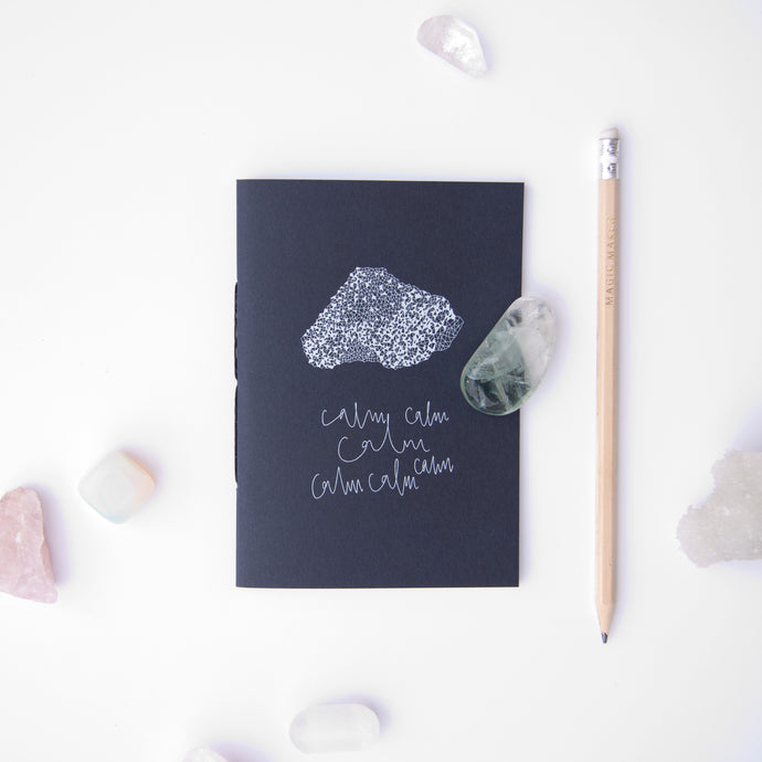 Crystal Healing Guided Mini-journal | Calm