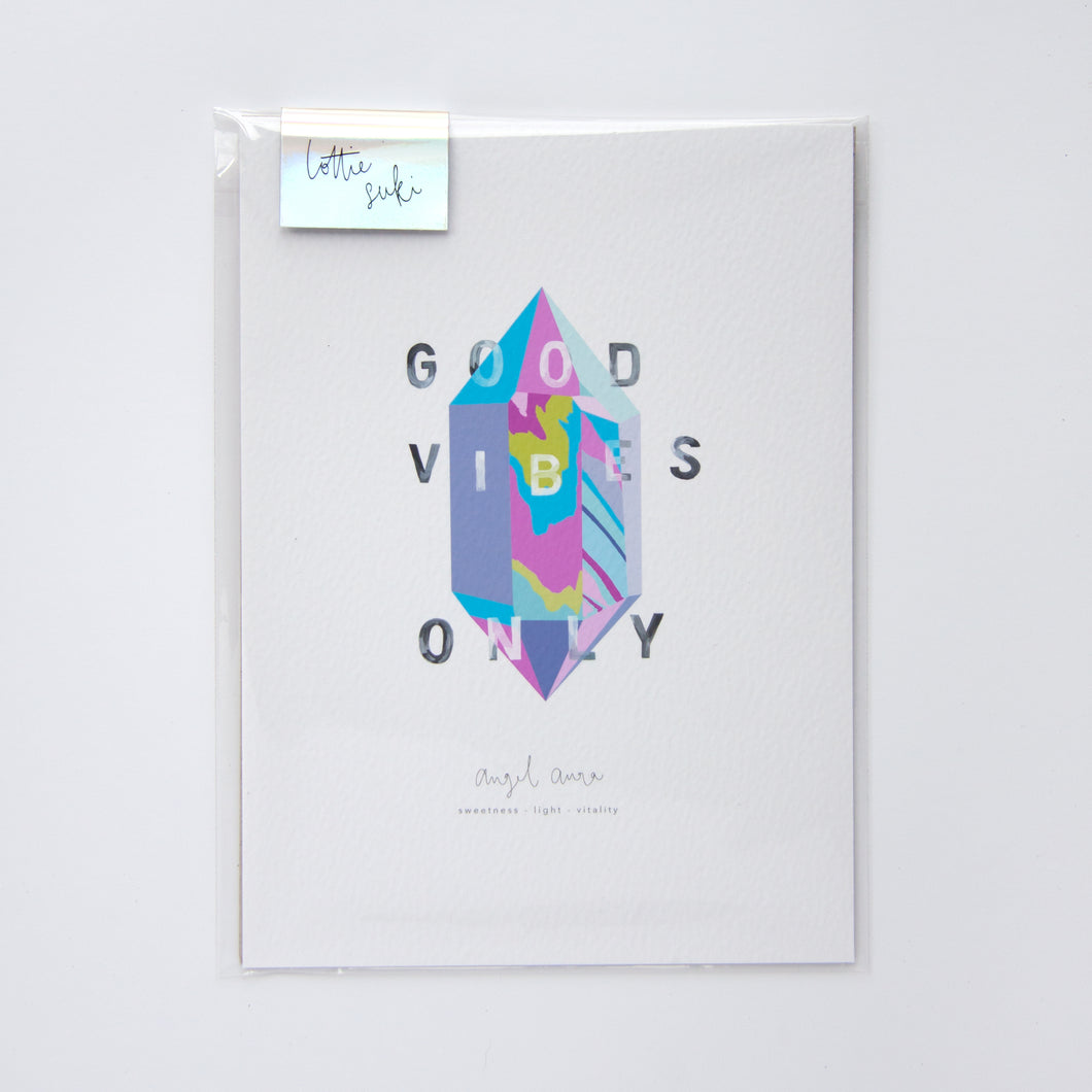Good Vibes Only Print | A4/A5
