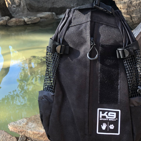 Black K9 Backpack - Medium