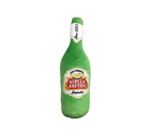 Stella Arftois Beer Plush Toy
