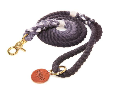 Charcoal Rope Leash