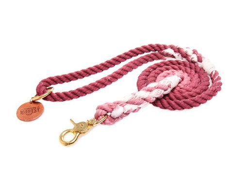 Cocoa Brown Rope Leash