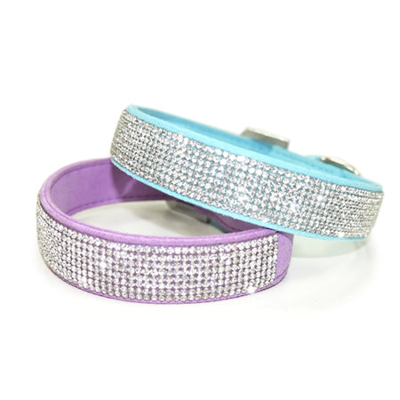 V.I.P Bling Collar Blue or Purple