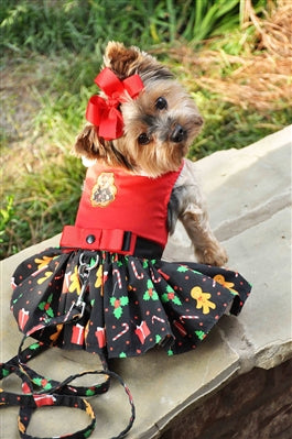 Gingerbread Dog Dress