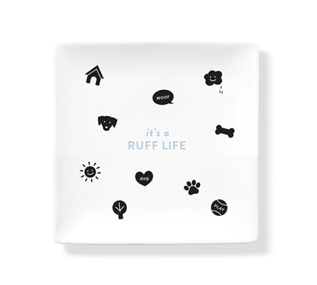 Ruff Life Ceramic Tray