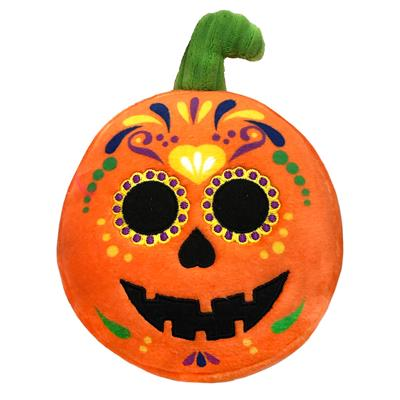 Sugar Skull Pumpkin Plush Toy