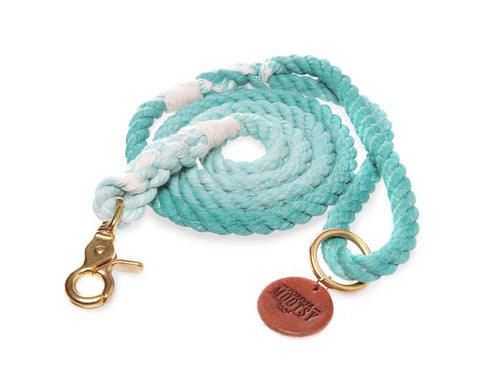 Teal Rope Leash