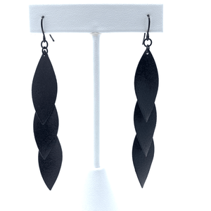 Layered Leaf Earrings For Women - Statement Jewelry