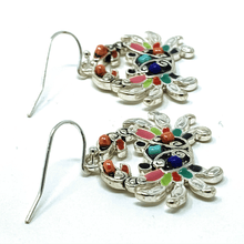 Crab Seed Bead Animal Earrings - Beach Jewelry