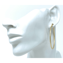 Gold Hoops 2 inch Large Earrings For Women - Costume Jewelry