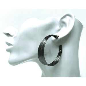 Hematite Stud Earrings For Women