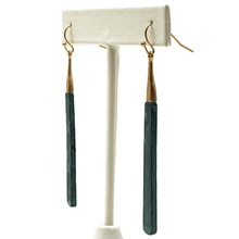 Rustic Patina Bar Dangle Boho Earrings For Women - Costume Jewelry