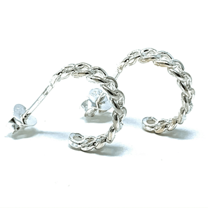 Stud Hoop Earrings - SeaSpray Jewelry