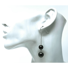 Sterling Silver Dangle Double Ball Earrings - SeaSpray Jewelry