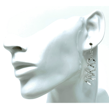 Sterling Silver Dangle Spiral Curled Earrings - SeaSpray Jewelry