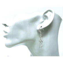Sterling Silver Twist Spiral Earrings - SeaSpray Jewelry