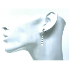 White Opal Sterling Silver Earrings - SeaSpray Jewelry