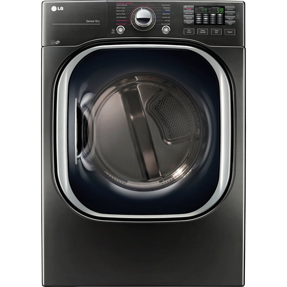 LG Steam Dryer (DLEX4370K) - Black Stainless