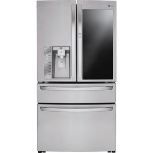 LG French Door Fridge (LMXS30796S) - Stainless Steel