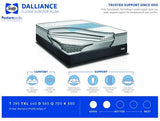 Sealy Dalliance Classic Eurotop Plush Mattress Set