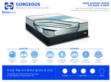 Sealy Gorgeous Proback Tight Top Extra Firm Mattress Set