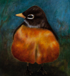 Robin limited edition archival pigment print on PAPER