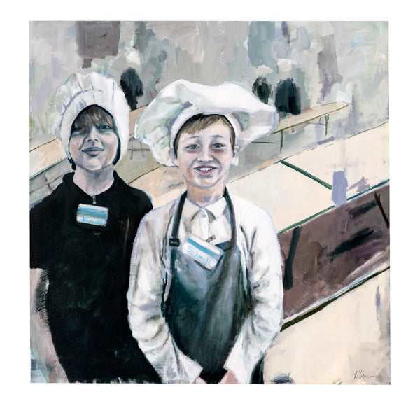 Little Chefs, Limited Edition archival pigment print