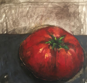 Tomato Limited edition archival pigment ink print on canvas