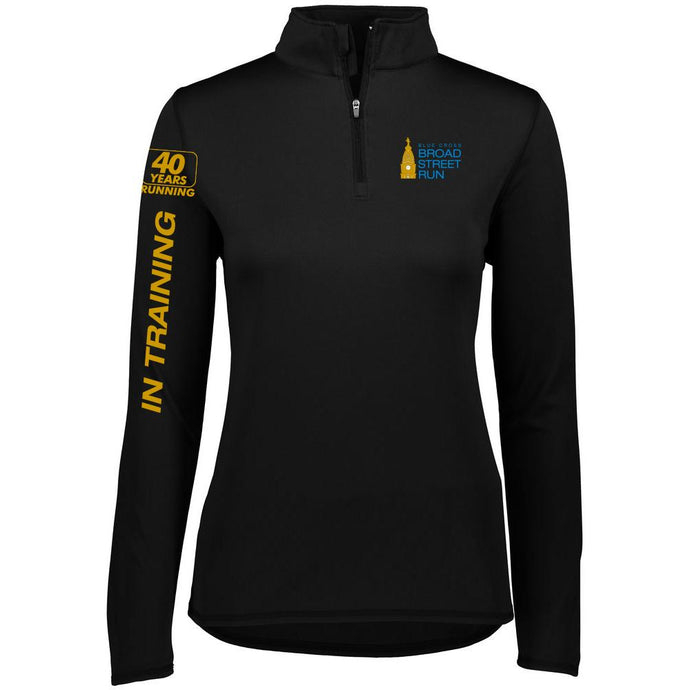 2019 Broad Street Run 1/4 Zip Pullover Jacket - Women's