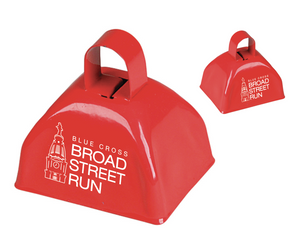 "'Tower' 3"" Cow Bell - Red"