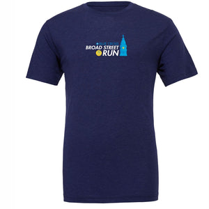 '2018 Directions' Men's SS Tri-Blend Lifestyle Tee - Navy Tribend - by Canvas