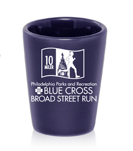 'Event Logo' Shot Glass - Navy