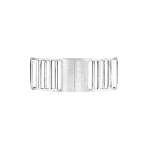 Eve Barred Bracelet Silver Plating