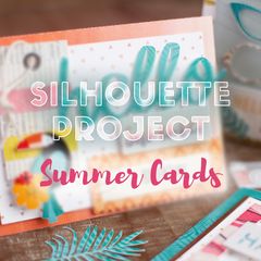 Summer Cards with Patterned Designs by Silhouette America