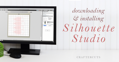 Downloading and Installing Silhouette Studio Software