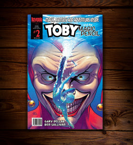 TOBY AND THE MAGIC PENCIL #2 - VARIANT
