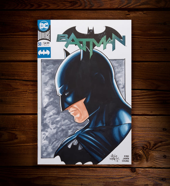 BATMAN #50 - SKETCH COVER