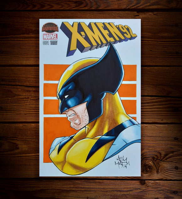 WOLVERINE - SKETCH COVER