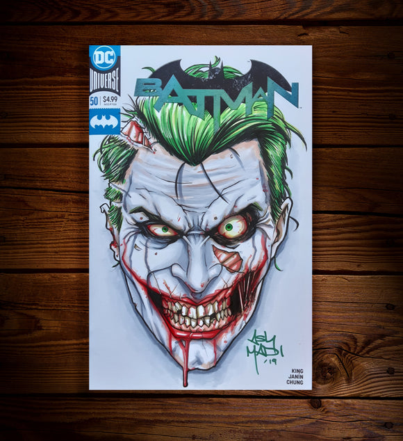JOKER (ZOMBIE) - SKETCH COVER
