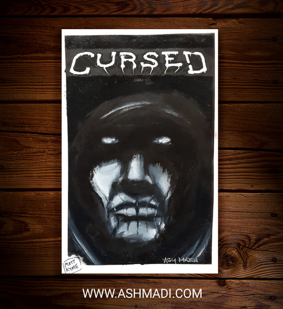 CURSED - SKETCH COVER