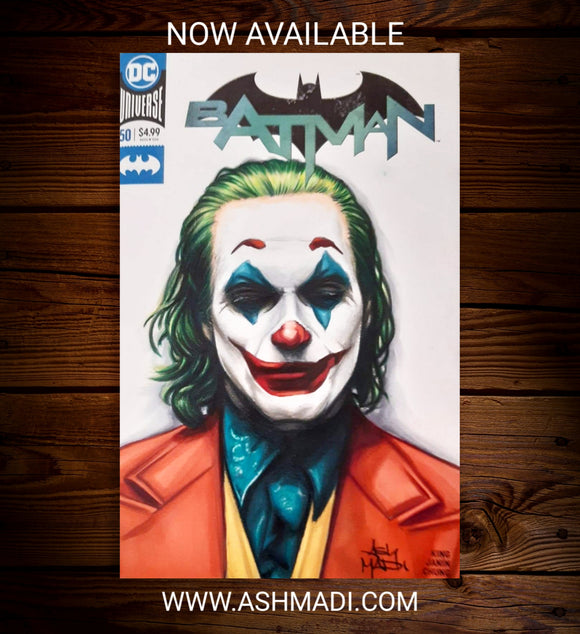 THE JOKER - SKETCH COVER