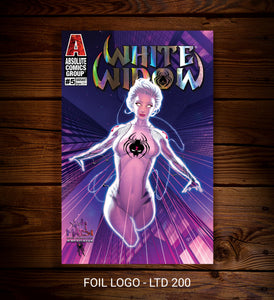 (PRE-ORDER) WHITE WIDOW #5 EXCLUSIVE - TRADE DRESS (FOIL LOGO)