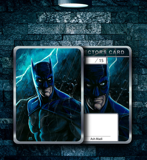 DARK KNIGHT - HOLOFOIL CARD