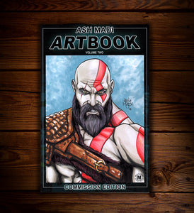 GOD OF WAR - SKETCH COVER