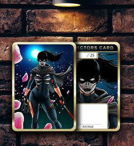 "CURSED #2 ""MIDNIGHT"" - HOLOFOIL CARD"